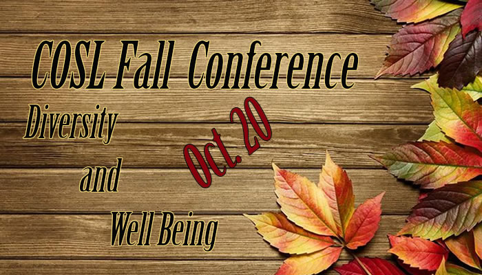 COSL Fall Conference 2017
